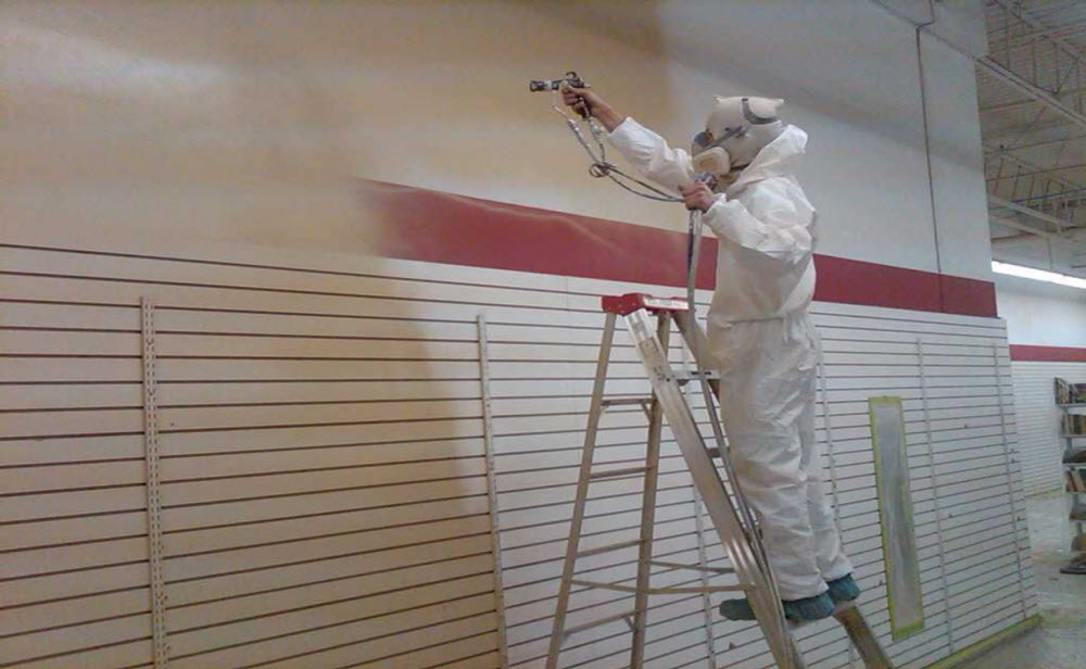 Commercial Spray Painting